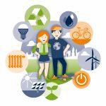 Logo des Energieeinsparprojektes Potsdamer Schulen